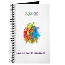 Dance Like No One Is Watching Journal