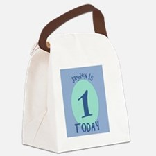 Jayden is one! Canvas Lunch Bag