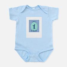 Cool 1 month birthday Infant Bodysuit