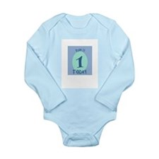 Cute Ryan 12 Long Sleeve Infant Bodysuit