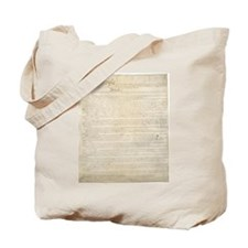 The Us Constitution Tote Bag