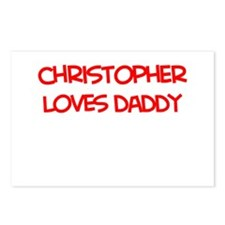 Christopher Loves Daddy Postcards (Package of 8)
