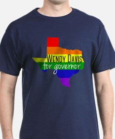 Wendy Davis Rainbow T-Shirt