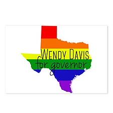 Wendy Davis Rainbow Postcards (Package of 8)