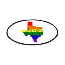 Wendy Davis Rainbow Patches