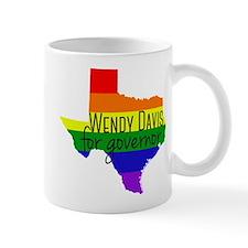 Wendy Davis Rainbow Mug