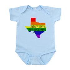 Wendy Davis Rainbow Infant Bodysuit