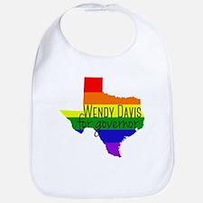 Wendy Davis Rainbow Bib