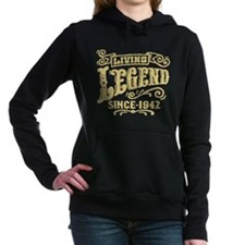 Living Legend Since 1942 Women's Hooded Sweatshirt