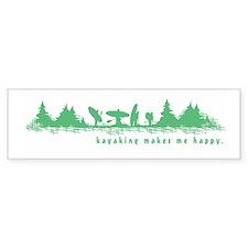 Cute Paddle Bumper Sticker