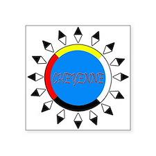 CHEYENNE4COLORDARKSHIRT Sticker