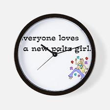 npgirl.png Wall Clock