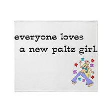npgirl.png Throw Blanket