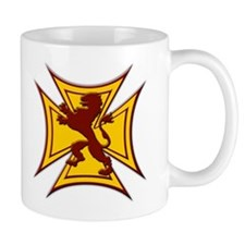 Royal Scottish Biker Cross Coffee Mug