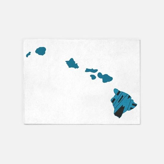 Hawaii Home 5'x7'Area Rug