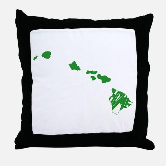 Hawaii Home Throw Pillow