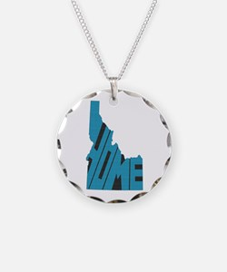 Idaho Home Necklace