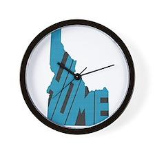 Idaho Home Wall Clock