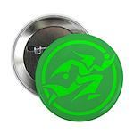 'Running Wizard' Button (100 pk) (green on green)
