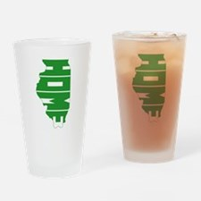 Illinois Home Drinking Glass