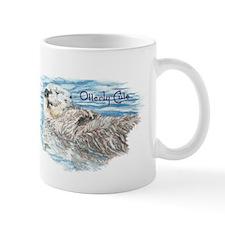 Otterly Cute quote Humorous Cute Otter Animal Mugs
