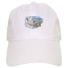 Otterly Cute quote Humorous Cute Otter Animal Hat