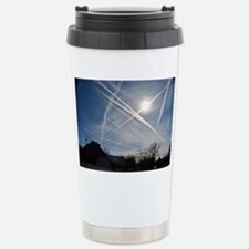 Chemtrail Grid Stainless Steel Travel Mug