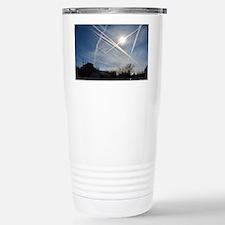 Chemtrail Grid Travel Mug