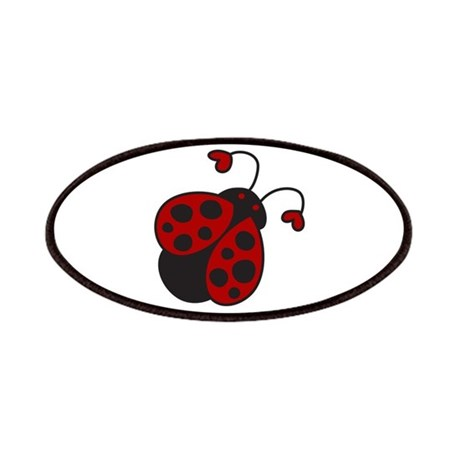 Heart Ladybug Patches