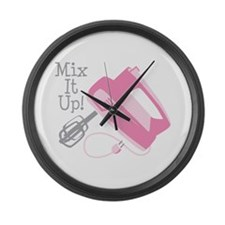 Mix It Up! Large Wall Clock