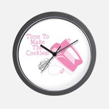 Time To Make The Cookies! Wall Clock