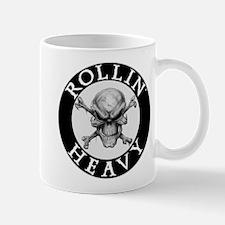 Rollin Heavy Logo Mugs