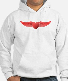 follow your heart red 04 Hoodie