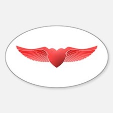 follow your heart red 04 Decal