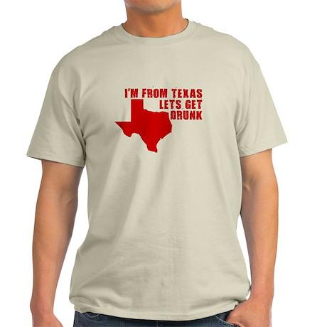 TEXAS HUMOR SHIRT FUNNY TEXAS Light T-Shirt