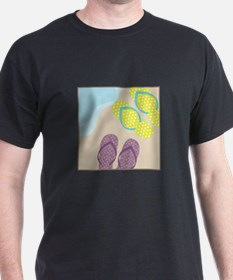 Sandles In Sand T-Shirt