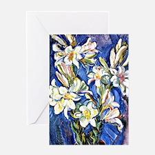Lily - Nicolas Tarhoff painting Greeting Card