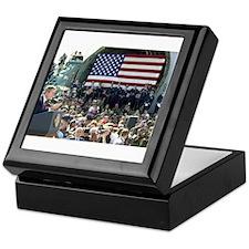 George W. Bush Travis AFB Keepsake Box