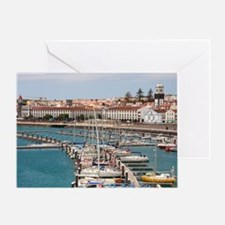 Ponta Delgada Greeting Card