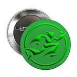 'Running Wizard' Button (3D green on green)