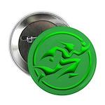 'Running Wizard' Button (10 pk) (3D green on green