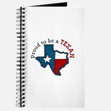 Proud to be a Texan Journal