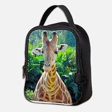 GIRAFFE LOVE Neoprene Lunch Bag