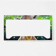 GIRAFFE LOVE License Plate Holder