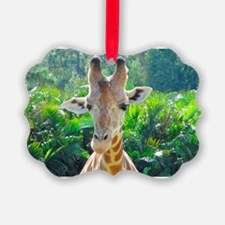 GIRAFFE LOVE Ornament