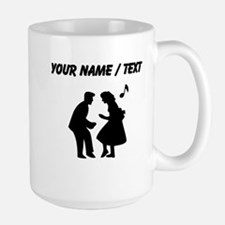 Custom Couple Dancing Mugs