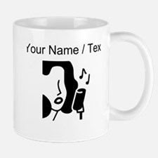 Custom Woman Singing Mugs