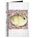 Snowy Mallard Duckling Journal