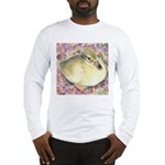 Snowy Mallard Duckling Long Sleeve T-Shirt
