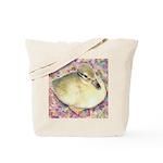 Snowy Mallard Duckling Tote Bag